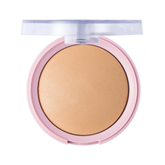 Компактная пудра Flormar Pretty Mattifying Pressed Powder 007 (Цвет 007 variant_hex_name D4A176) пудра essence mattifying compact powder 04 цвет 04 perfect beige variant hex name facfbb