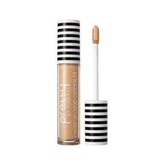 Консилер Flormar Pretty Pretty Cover Up Liquid Concealer 003 (Цвет 003 Light Beige variant_hex_name E7AA7E) корректор flormar pretty pretty stick concealer 002 цвет 002 ivory variant hex name f7ceb2
