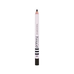 Карандаш для глаз Flormar Pretty  Styler Eye Pencil 101 (Цвет  Black variant_hex_name 2A2925)