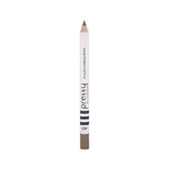 Pretty Styler Eyebrow Pencil 401 (Цвет 401 Blond variant_hex_name 7E6755)