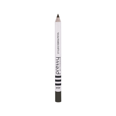 Карандаш для бровей Flormar Pretty Pretty Styler Eyebrow Pencil 404 (Цвет 404 Dark Brunette variant_hex_name 3E3933) карандаш для бровей lumene nordic chic extreme precision eyebrow pencil 4 цвет 4 коричневый variant hex name 271c1a