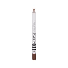 Карандаш для губ Flormar Pretty Pretty Styler Lip Pencil 202 (Цвет 202 Light Nougat variant_hex_name 703A2E) nougat london