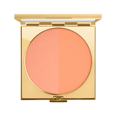 Румяна MAC Cosmetics Padma Lakshmi Powder Blush Duo Melon Pink (Цвет Melon Pink variant_hex_name F6A284) румяна mac cosmetics powder blush desert rose цвет desert rose m variant hex name c0888c