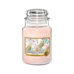 Ароматическая свеча Yankee Candle Rainbow Cookie Large Jar Candle (Объем 623 г) ароматическая свеча yankee candle soft blanket large jar candle объем 623 г