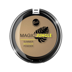 Бронзатор Bell Magic Jungle Summer Bronze Powder (Цвет Summer Bronze Powder variant_hex_name C2A17A) alluminum alloy magic folding table bronze color magic tricks illusions stage mentalism necessity for magician accessories