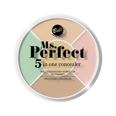 Консилер Bell Ms.Perfect 5-in-One Concealer (Цвет Ms.Perfect 5-in-One variant_hex_name E4C4A3) консилер bell antibacterial concealer a1 цвет a1 variant hex name ad8571