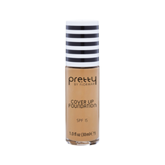 Тональная основа Flormar Pretty Cover Up Foundation 003 (Цвет 003 Light Ivory variant_hex_name D7A781) корректоры the saem cover perfection concealer foundation spf50 pa 1 5