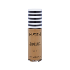 Тональная основа Flormar Pretty Cover Up Foundation 008 (Цвет 008 Medium Beige variant_hex_name CA8B60) корректоры the saem cover perfection concealer foundation spf50 pa 1 5
