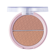 Румяна Flormar Pretty Matte Blush 005 (Цвет 005 Bronze Kiss variant_hex_name DA9586) румяна kiss new york professional this moment blush 02 цвет 02 before sunset variant hex name e78374