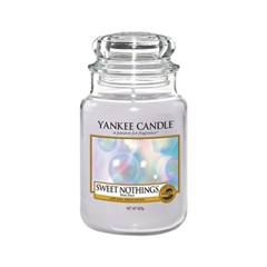 Ароматическая свеча Yankee Candle Sweet Nothings Large Jar Candle (Объем 623 г) 623 мл свитшот tom tailor tom tailor to172embxhl9