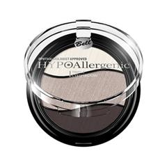 Для глаз Bell HYPOAllergenic Triple Eyeshadow 10 (Цвет 10 variant_hex_name BAA9A1)