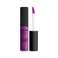 Жидкая помада NYX Professional Makeup Soft Matte Metallic Lip Cream 08 (Цвет 08 Seoul variant_hex_name 9D3779)