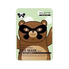 Маска для глаз Milatte Fashiony Black Eye Mask Bear (Объем 10 г) crown style feather plastic eye mask black