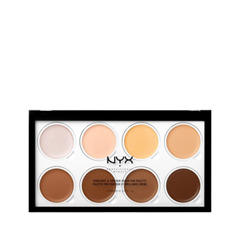 Для лица NYX Professional Makeup Highlight & Contour Cream Pro Palette