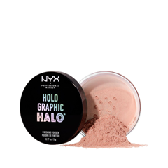 Рассыпчатая пудра NYX Professional Makeup Holographic Halo Finishing Powder 02 (Цвет HHFPT02 Magical variant_hex_name EDA487) пудры nyx professional makeup пудра hd high definition finishing powder mint green