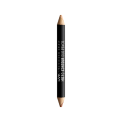 Контуринг NYX Professional Makeup Контурирующий Карандаш Micro-Contour Duo Pencil 02 (Цвет MCDP02 Medium variant_hex_name E6A885) карандаш для глаз nyx professional makeup slide on pencil 02 цвет 02 black sparkle variant hex name 595b5a