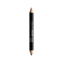 Контуринг NYX Professional Makeup Контурирующий Карандаш Micro-Contour Duo Pencil 03 (Цвет MCDP03 Medium Deep variant_hex_name 975737) карандаш для глаз nyx professional makeup slide on pencil 02 цвет 02 black sparkle variant hex name 595b5a