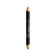 Контуринг NYX Professional Makeup Контурирующий Карандаш Micro-Contour Duo Pencil 04 (Цвет MCDP04 Deep variant_hex_name 854223) nyx professional makeup консилер для лица concealer jar deep espresso 095