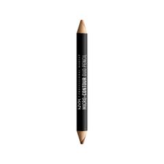 Лицо NYX Professional Makeup Контурирующий Карандаш Micro-Contour Duo Pencil 04 (Цвет MCDP04 Deep variant_hex_name 854223) nyx professional makeup стойкая тональная основа total control drop foundation deep sable