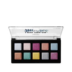 Тени для век NYX Professional Makeup Love You So Mochi Eyeshadow Palette 01 (Цвет LYSMSP01 Electric Pastels variant_hex_name A03A71)