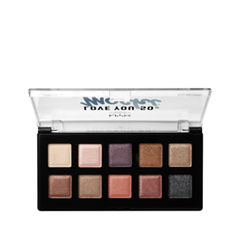 Тени для век NYX Professional Makeup Love You So Mochi Eyeshadow Palette 02 (Цвет LYSMSP02 Sleek and Chic variant_hex_name C89E85)