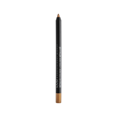 Карандаш для глаз NYX Professional Makeup Metallic Eyeliner 04 (Цвет MEL04 Gold variant_hex_name CF955B) карандаш для глаз nyx professional makeup faux blacks eyeliner fbl08 цвет fbl08 onyx variant hex name 013a31