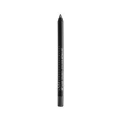 Карандаш для глаз NYX Professional Makeup Metallic Eyeliner 05 (Цвет MEL05 Gunmetal variant_hex_name 6D6D6D) nyx professional makeup стойкий карандаш для контура глаз faux whites eye brightener linen 03