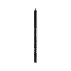 Карандаш для глаз NYX Professional Makeup Metallic Eyeliner 06 (Цвет MEL06 Black Metal variant_hex_name 000000) карандаш для глаз nyx professional makeup slide on pencil 02 цвет 02 black sparkle variant hex name 595b5a