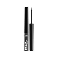 Подводка NYX Professional Makeup Strictly Vinyl Eyeliner 02 (Цвет SVEL02 Dauntless variant_hex_name 2C2C2C)