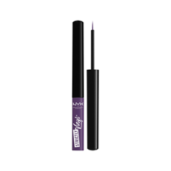 Подводка NYX Professional Makeup Strictly Vinyl Eyeliner 08 (Цвет SVEL08 Extra variant_hex_name 603668) fashion women travel kit jewelry organizer makeup cosmetic bag