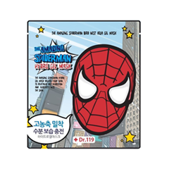 Гидрогелевая маска Baviphat Dr.119 The Amazing Spiderman Bird Nest Aqua Gel Mask (Объем 30 г) 30 мл