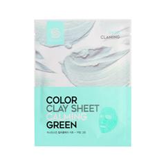 Тканевая маска Berrisom G9 Skin Color Clay Sheet Calming Green (Объем 20 г) маска berrisom g9 skin honey eye patch 60 шт