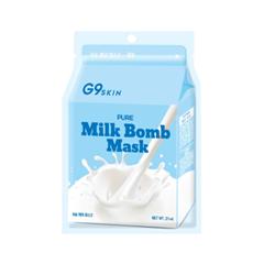 Тканевая маска Berrisom G9 Skin Milk Bomb Mask Pure (Объем 21 мл) маска berrisom g9 skin honey eye patch 60 шт