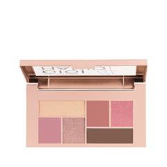 Для глаз Maybelline New York Gigi Hadid Eyeshadow Palette 16 (Цвет 16 Cool variant_hex_name A67A6F) купить недорого в Москве