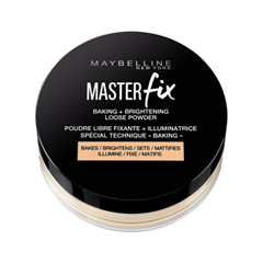 Рассыпчатая пудра Maybelline New York Master Fix Baking Powder 02 (Цвет 02 Banana variant_hex_name F1E5D6) maybelline new york консилер для цветокоррекции лица master camo оттенок 30 розовый 1 5 мл