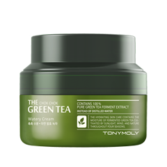 Крем Tony Moly The Chok Chok Green Tea Watery Cream (Объем 60 мл) гель tony moly the chok chok green tea essential soothing gel объем 200 мл