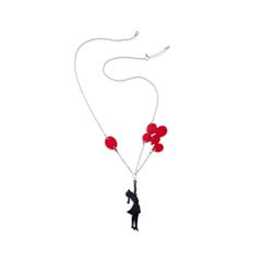 Колье Clip Me Flying Balloons Girl Каскад