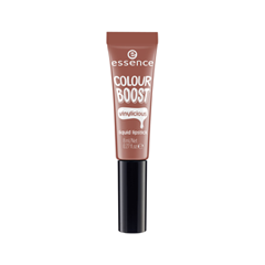 Помада essence Colour Boost Vinylicious Liquid Lipstick 02 (Цвет 02 Nude is The New Cute variant_hex_name E0684B) essence longlasting lipstick nude 03 цвет 03 come naturally variant hex name b8908e