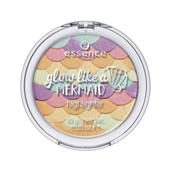 Хайлайтер essence Glow Like a Mermaid Highlighter 10 (Цвет 10 Forever Mermaid variant_hex_name D19EA3) хайлайтер essence strobing highlighter stick 20 цвет 20 glow up your life variant hex name eddcc9