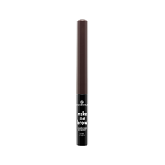Тени для бровей essence Make Me Brow Eyebrow Powder 01 (Цвет 01 Brown variant_hex_name 604546) карандаш для бровей essence make me brow jumbo eyebrow pencil 10 цвет 10 blonde variant hex name 7c5c51