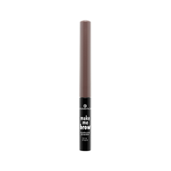 Тени для бровей essence Make Me Brow Eyebrow Powder 02 (Цвет 02 Blonde variant_hex_name 9E6E59) карандаш для бровей essence make me brow jumbo eyebrow pencil 10 цвет 10 blonde variant hex name 7c5c51