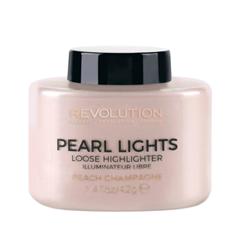 Фото Хайлайтер Makeup Revolution Pearl Lights Loose Highlighter Peach - Champagne (Цвет Peach - Champagne variant_hex_name EDD5D5)