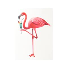 Переводные тату Sasha Unisex Flamingo