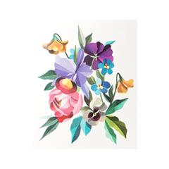 Переводные тату Sasha Unisex Floral Bouquet