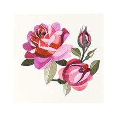Переводные тату Sasha Unisex Pink Roses