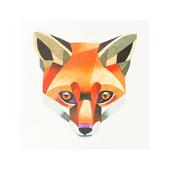 Переводные тату Sasha Unisex Red Fox