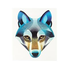 Переводные тату Sasha Unisex Wolf