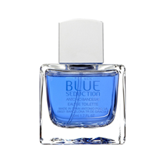 Туалетная вода Antonio Banderas Blue Seduction (Объем 50 мл Вес 100.00) antonio banderas набор blue seduction for women туалетная вода спрей 50 мл лосьон для тела 50 мл