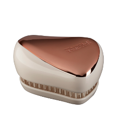Расчески и щетки Tangle Teezer Compact Styler Rose Gold Luxe (Цвет Rose Gold Luxe variant_hex_name 9e6453) solid scrub stainless steel brushed black gold silver rose gold finished watch band clasp buckle watchbands 16 18 20mm 24mm 26mm