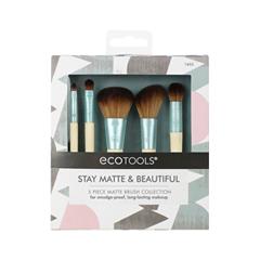 Набор кистей для макияжа Ecotools Stay Matte & Beautiful Brush Collection fabrik cosmetology кисть для нанесения макияжа